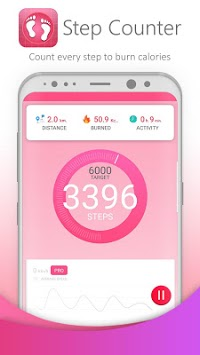 Step Counter-Pedometer APK screenshot 1