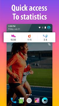 Pedometer for walking - Step Counter APK screenshot 1