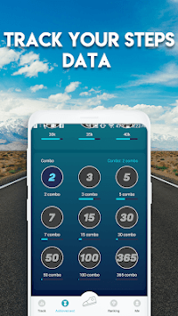 GoWalk - Steps Pedmeter APK screenshot 1