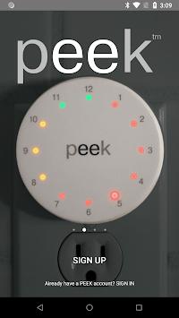 Peek APK screenshot 1