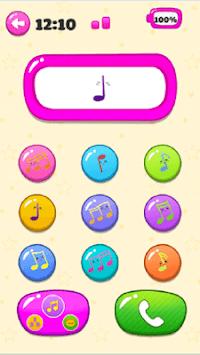 Pink Baby Phone Kids - Number Animal Music APK screenshot 1