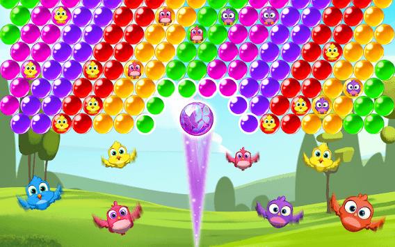 Bird Bubble Rescue APK screenshot 1