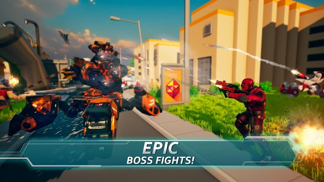 Iron Avenger - Infinite Warfare RPG APK screenshot 1