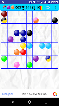 Bubbles in Line APK screenshot 1