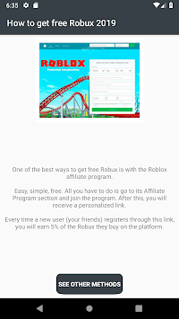 Free Robux Now - Earn Robux Free Today - Tips 2019 APK Download For Free