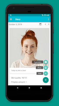 Skin Tracker - diary for your skin APK screenshot 1