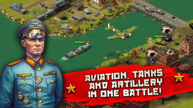 World War II: Eastern Front Strategy game APK screenshot 1