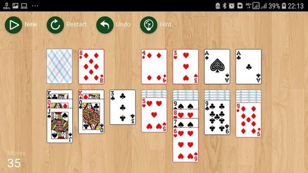 solitaire no ads free offline APK screenshot 1