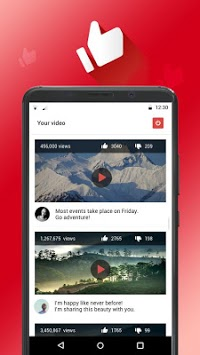 Likes and subscribers on YouTube APK screenshot 1