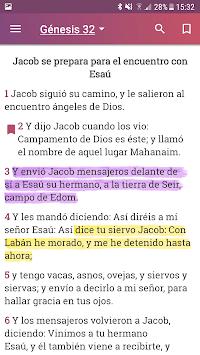 Holy Bible Reina Valera 1960 in Spanish APK screenshot 1