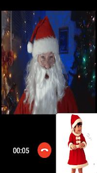 Santa Claus Video Call APK screenshot 1