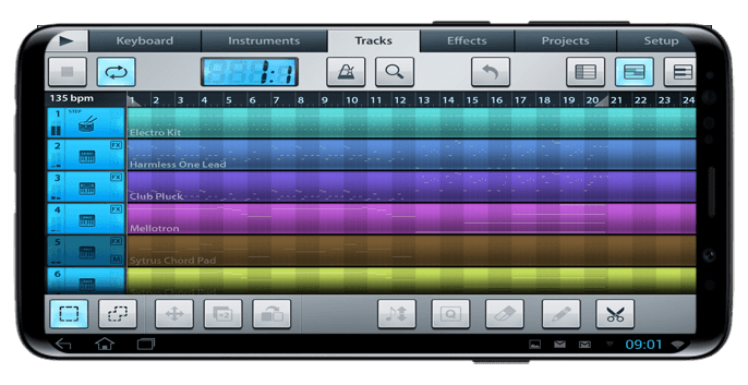garageband android gratis studio 2019 APK screenshot 1