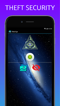 Don't Touch My phone Third Eye anti-theft security APK screenshot 1