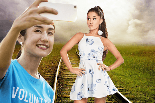 Selfie With Ariana Grande APK screenshot 1