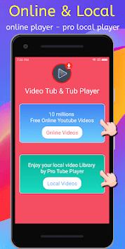 Video Tube & Tube Player Pro APK screenshot 1