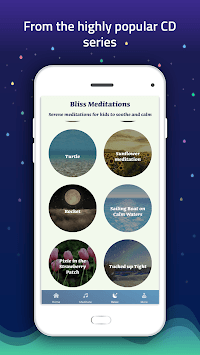 Meditation for kids - calmness, mindfulness, sleep APK screenshot 1