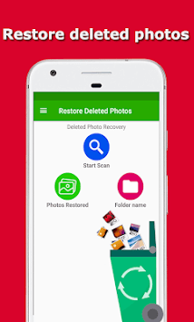 Restore Deleted Photos - Recover Deleted Pictures APK screenshot 1