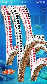 Solitaire - Fish APK screenshot 1