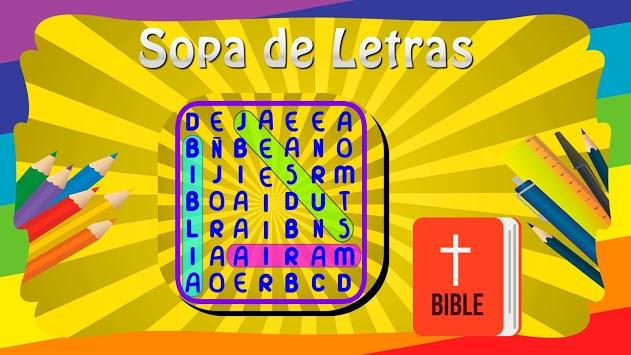 Sopa de Letras de la Biblia APK screenshot 1