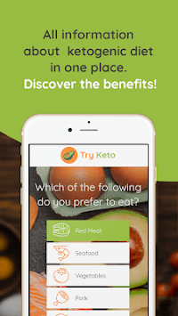 Try Keto – Best Keto Meals and Diets APK screenshot 1