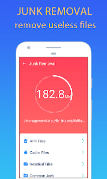 WiTTo Clean - Save Space and Speed-up the Phone APK screenshot 1