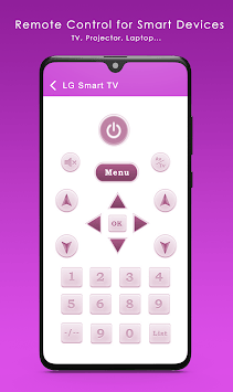 Sure Universal Remote Control Smart TV APK screenshot 1