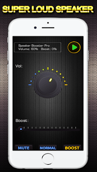 500 high volume booster super loud (sound booster) APK screenshot 1