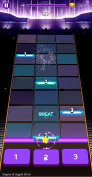 Beat Extreme: Rhythm Tap Music Game APK screenshot 1