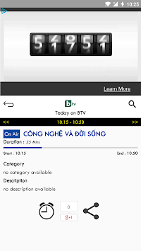 TV Vietnam Free TV Listing APK screenshot 1