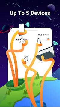UFO VPN Basic: Free VPN Proxy & Secure WiFi Master APK screenshot 1