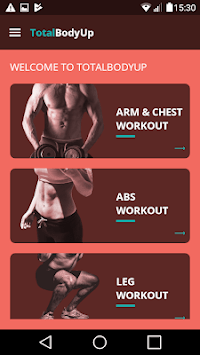 TotalBodyUp APK screenshot 1