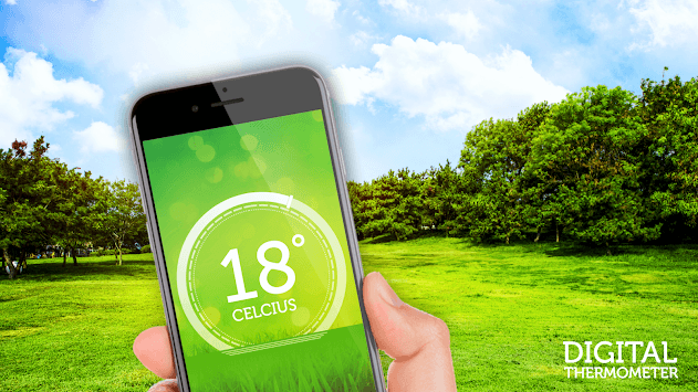 Digital thermometer - room temperature APK screenshot 1