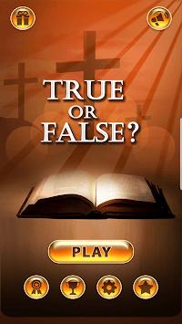 True or False? (Bible Quiz) APK screenshot 1