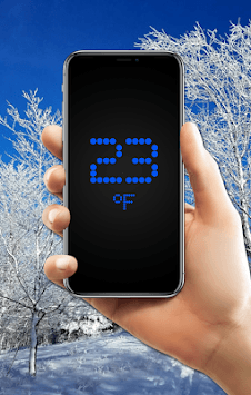 Accurate room thermometer APK screenshot 1