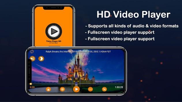 HD Video Player All Format APK screenshot 1