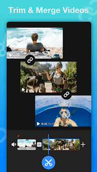 Vlog Video Editor for YouTube & Video Maker- VlogU APK screenshot 1