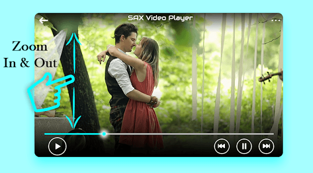 SXS Video Player - sxPlayer : Movie Player APK screenshot 1