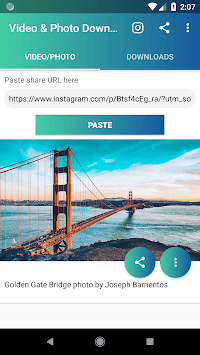 Video and Photo Downloader for Instagram™ APK screenshot 1