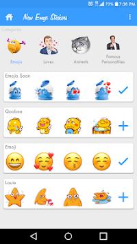New Emoji Stickers for Whatsapp- Add WAStickerapps APK screenshot 1