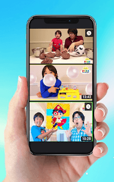 New~Video Ryan Family Review Collection APK screenshot 1