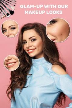 You Beauty Makeup : InstaSelfie Makeover camera APK screenshot 1