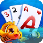 Solitaire TriPeaks - Fish Rescue FOR PC