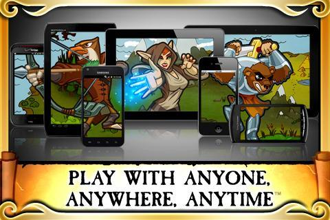 Pocket Legends APK screenshot 1