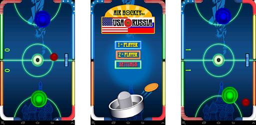 Air Hockey Pro: Russia vs USA pc screenshot