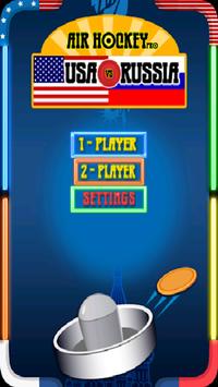 Air Hockey Pro: Russia vs USA APK screenshot 1