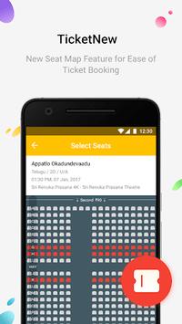 TicketNew - Movie Ticket Booking APK screenshot 1