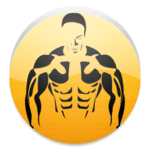 Exercises for gym icon
