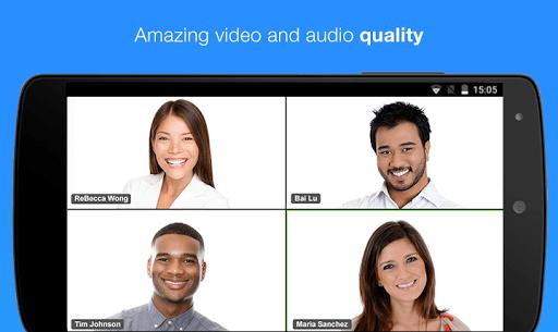 ZOOM Cloud Meetings APK screenshot 1