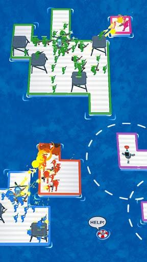 War of Rafts: Crazy Sea Battle APK screenshot 1