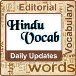 Hindu Vocab App: Daily Editorial & Vocabulary icon